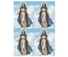 Mary DIY Funeral Card Template front