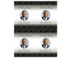 Nigeria DIY Funeral Card Template front
