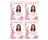 Spring DIY Funeral Card Template front