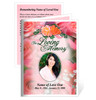 Rosy Small Folded Funeral Card Template
