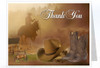 Ranch Funeral Thank You Card Template