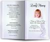 angela lavender Funeral Program Template