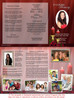 Candlelight DIY Legal Funeral Tri Fold Brochure Template inside view