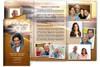 Footprints Legal Funeral Tri Fold Brochure Template