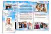 Peace DIY Legal Funeral Tri Fold Brochure Template