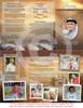 Timeless DIY Legal Funeral Tri Fold Brochure Template inside view