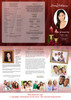 Candlelight Large Tabloid Trifold Funeral Brochures Template inside view