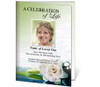Divine A4 Program Funeral Order of Service Template