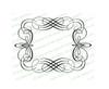Adagio Elegant Vector Flourish Border