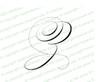 Monogram Script Letter Z