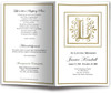 Funeral Gold L Monogram Template