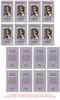 Gray Folded DIY Pet Memorial Card Templates inside view