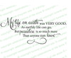 My Life On Earth Funeral Poem Word Art