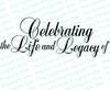 Celebrating the Life and Legacy of Funeral Program Title