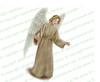 Delilah Angel Vector Funeral Clipart light skin