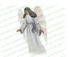 Eve Angel Vector Funeral Clipart dark skin
