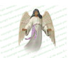 Holy Angel Vector Funeral Clipart dark skin