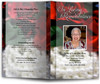 elegance funeral program template