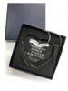 Crystal Heart Memorial In Loving Memory Christmas Ornament boxed
