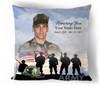 Army In Loving Memory Memorial Pillows