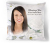 Awakening In Loving Memory Memorial Pillows