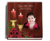 Candlelight funeral guest book with photo