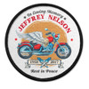 Motorcycle Rider In Memory Of Patches