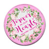Pink Wreath In Memory Of Patches