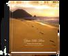 Footprint funeral guest book