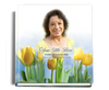 Inspire funeral guest book with photo