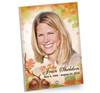 Autumn In Loving Memory Beveled Glass Memorial Portrait