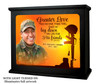 His Friends In Loving Memory Memorial Photo Light Box lighted