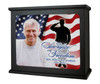 Military Patriotic In Loving Memory Photo Light Box Memorial