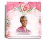 precious funeral guest book with photo