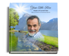 reflections funeral guest book with photo