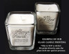 A Beautiful Life Memorial Glass Cube Candle Holder sample