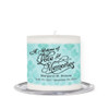Beth Small Wax Memorial In Loving Memory Candle front