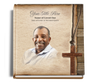 shepherd funeral guest book with photo