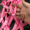 Breast Cancer Awareness Personalized Ribbon (Pink) sample