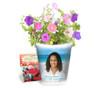 Caribean Personalized Memorial Ceramic Flower Pot