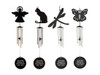 In loving memory wind chimes personalized