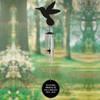 Personalized Hummingbird Silhouette In Loving Memory Memorial Wind Chime