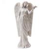 Memorial Angel with Bird Garden Figurine