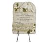 Personalized Peaceful LoveBirds Memorial Garden Plaque