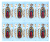 Lady of Guadalupe Catholic Mass Prayer Card Paper (Set of 8)