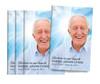 Forever Hearts Bifold Funeral Program Design & Print (Pack of 25)