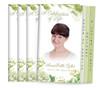 Perennial 8-Sided Graduated Funeral Program Design & Print (Pack 25)