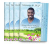 Country Road 8-Sided Graduated Funeral Program Design & Print (Pack 25)