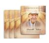 Crossing No Fold Memorial Card Design & Print (Pack of 25)