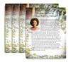 Serene No Fold Funeral Flyer Design & Print (Pack of 25)